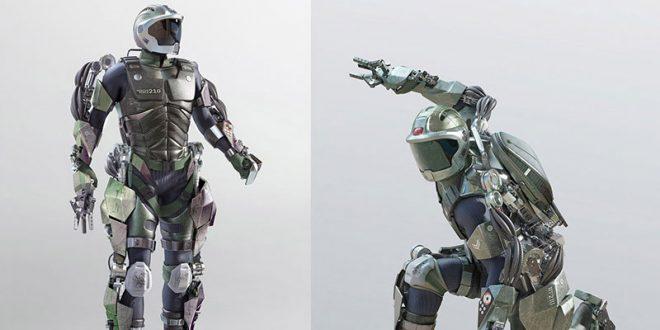 Exoskeleton Екзоскелет Суперсили