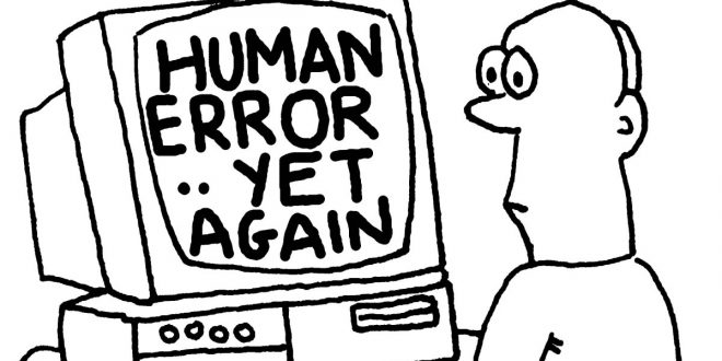 human error data loss данни