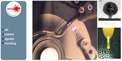 картинка на HAMR технология