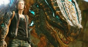Scalebound main hero and his dragon
