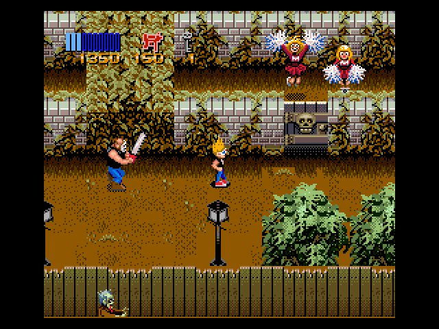 Leatherface от Chain Saw Massacre се пявява няколко пъти в играта.