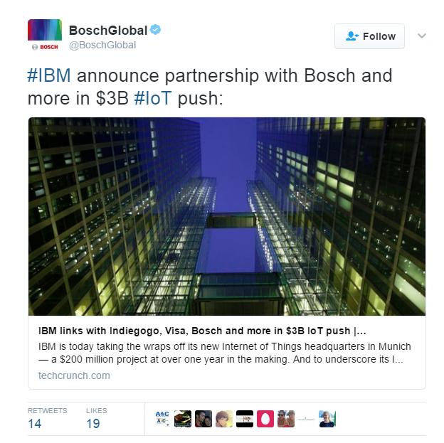 картинка на пост от twitter за bosch internet of things