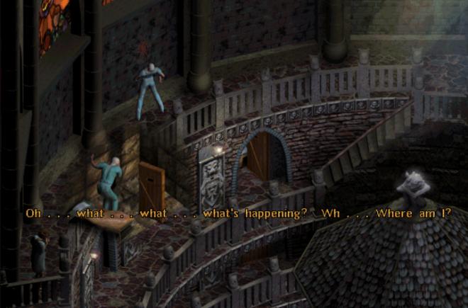 Настроението, което играта Sanitarium създава е мрачно и тежко.