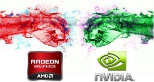 """Заглавна картинка на статията """"NVIDIA с 70.5% дял при пазара на графични карти, AMD с 29.5%"""""""