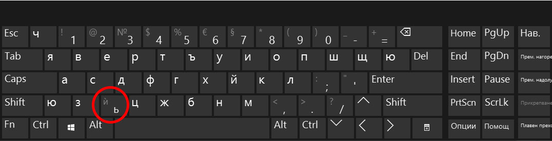 Българска фонетична традиционна клавитура