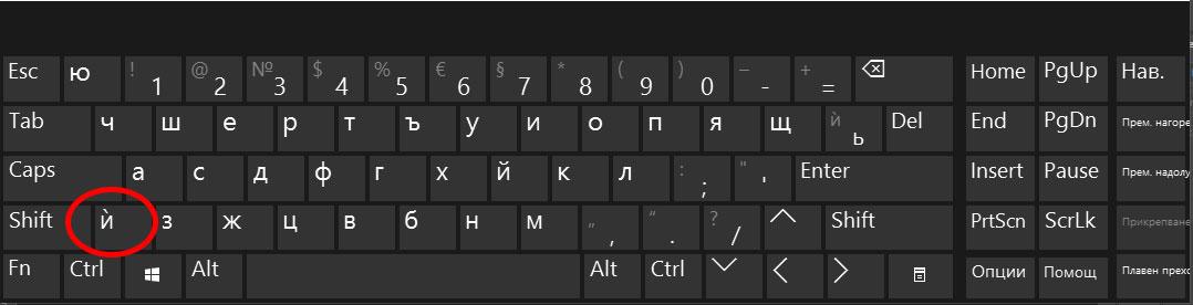 Българска фонетична клавиатура