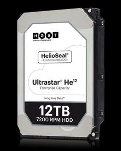 Снимка на HGST Ultrastar He 12TB