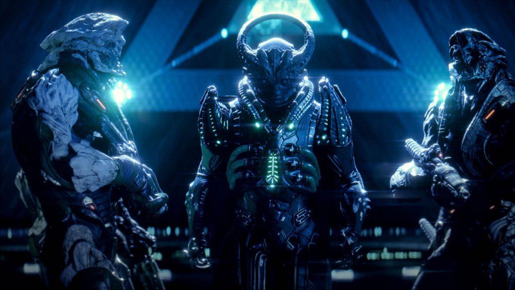 Mass effect: Andromeda - чужда раса