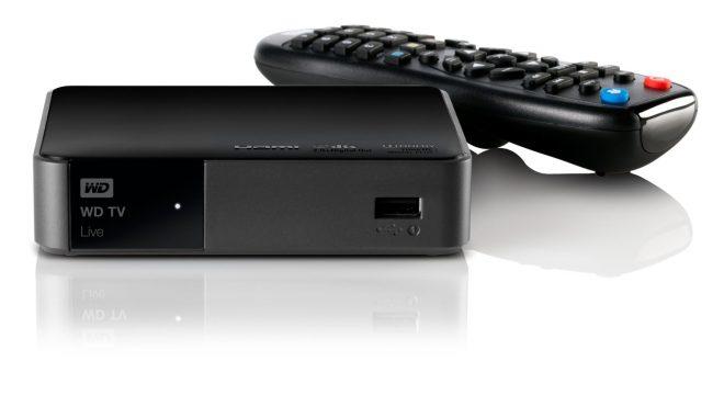 снимка на мултимедийна кутия WD TV