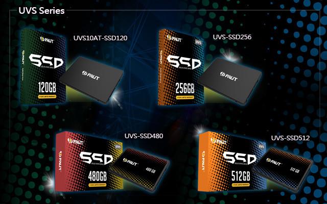 Снимка на Palit SSD продукти
