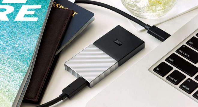 Снимка на външно SSD My Passport SSD