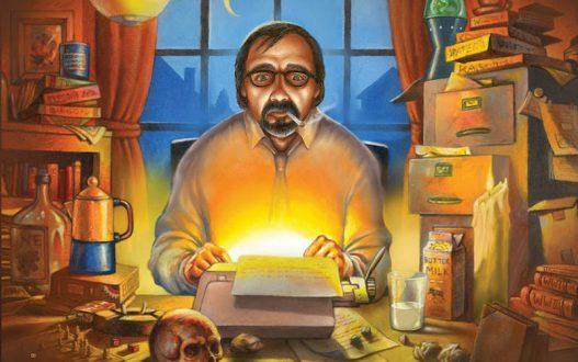 Dungeons & Dragons - Писателят Gary по време на работа