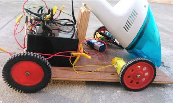 Снимка на Arduino прахосмукачка