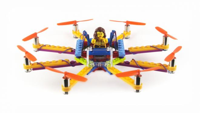 Снимка на Arduino дрон от Lego