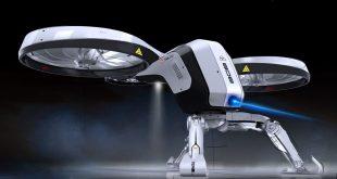 Великобритания създава отряд за борба с дронове