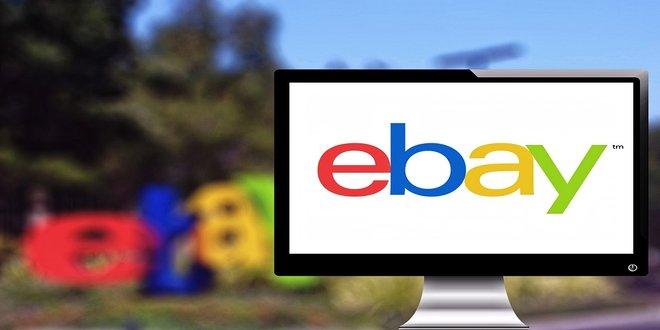 Guaranteed delivery - монитор с логото на ebay