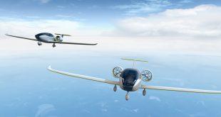 """Заглавна картинка на статията """"Хибриден електрически самолет полетя във Великобритания"""""""