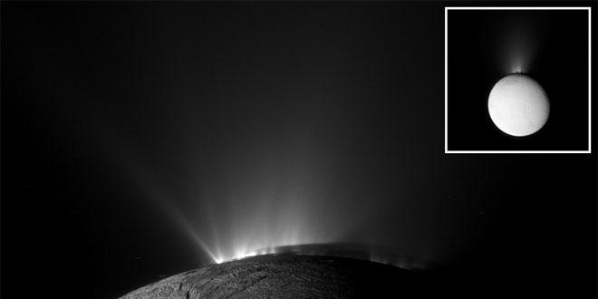 Гейзери на Енцелад