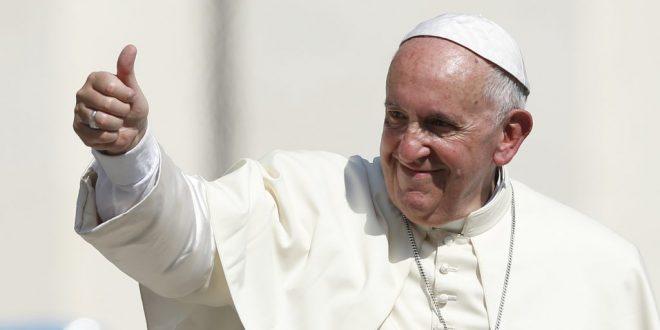 """Заглавна картина на статията """"Папа Франциск TED изява относно технологичните компании"""""""