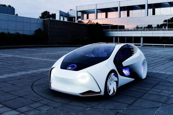 Снимка на бъдеща кола на toyota