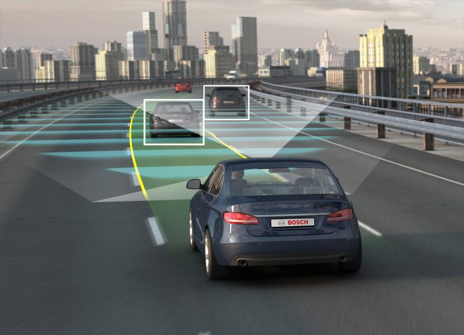 Снимка на самоуправляваща се кола