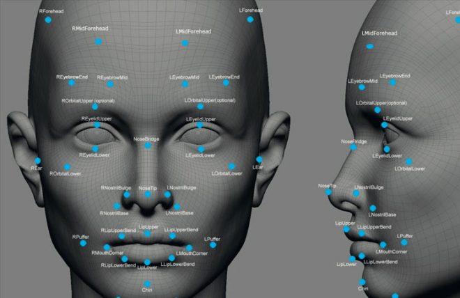 Графика на лицево разпознаване