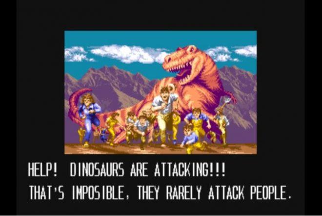 Динозаврите атакуват!