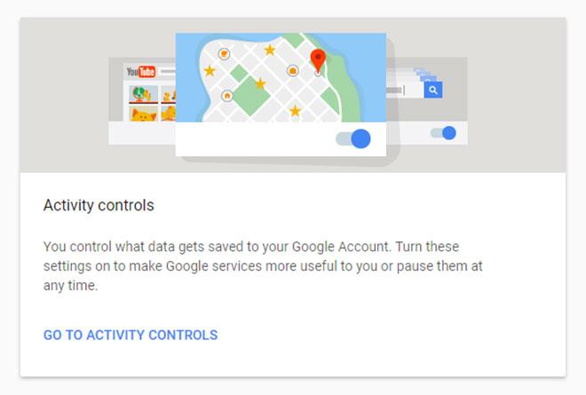Google Контрол на активността