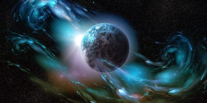 """Заглавна картинка на статията """"Изкуствен енергиен щит, създаден около Земята"""""""