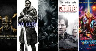 9 филмови премиери май 2017