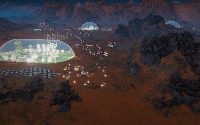 От снимките става ясно, че колониите ще се развиват под огромни куполи.