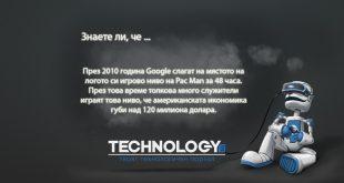 Pac Man ощетява Америка благодарение на Google с милиони долари за 48 часа.