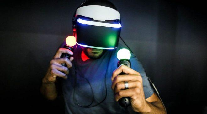 снимка на PS VR