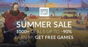 GoG Summer Sale лятна картинка