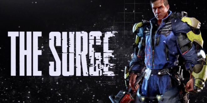 The Surge - Dark Souls с роботи, main hero and logo