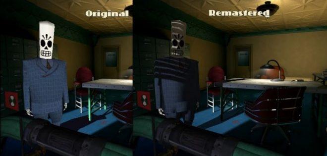 Сравенение между оригиналната и ремастерираната версия.
