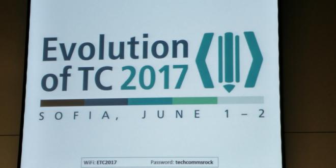 """Заглавна картинка на статията """"Evolution of Technical Communication 2017 – ден 2"""""""
