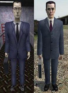 G-Man в Half-Life и Half-Life 2