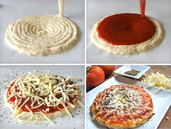 3D принтирана пица