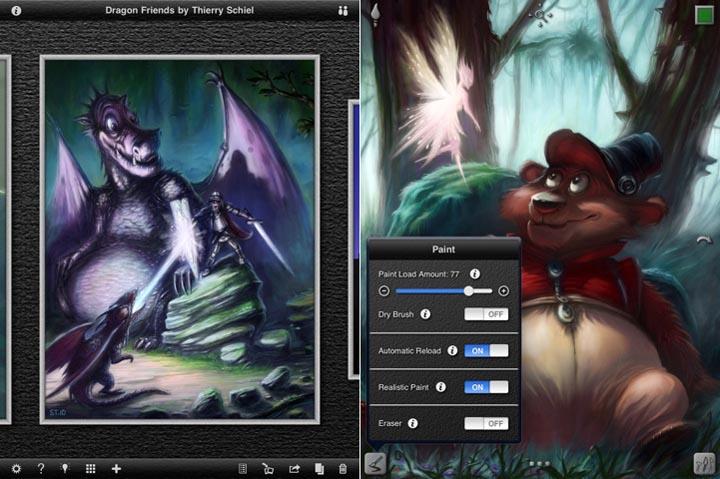 Снимка на iPad Pro апликация