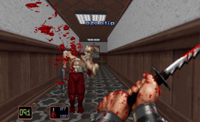 Играта е изпълнена с насилие и кръв.