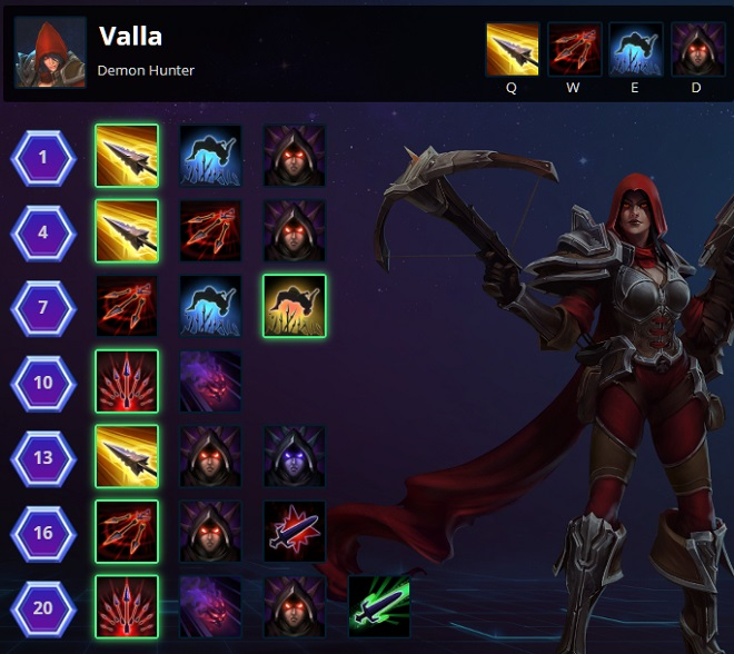 Valla Hungering Arrow