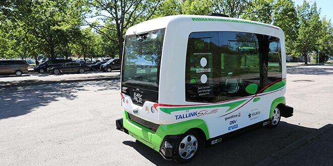 Автобус без шофьор в Есония