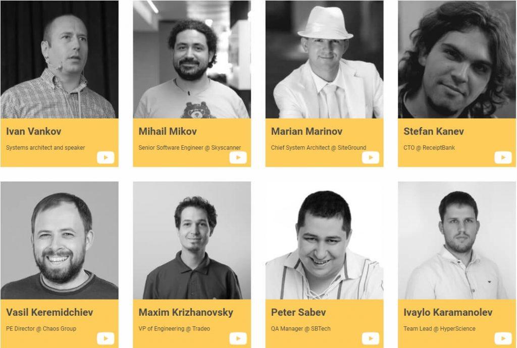 HackConf 2017 - Част от лекторския екип