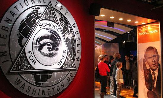 Шпионския музей във Вашингтон е изключително интересен Източник: Washington.org
