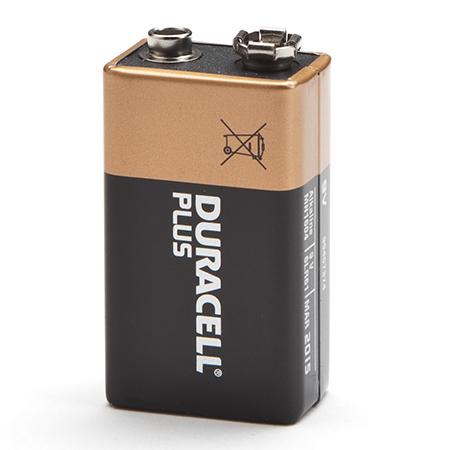 Снимка на девет волтова батерия