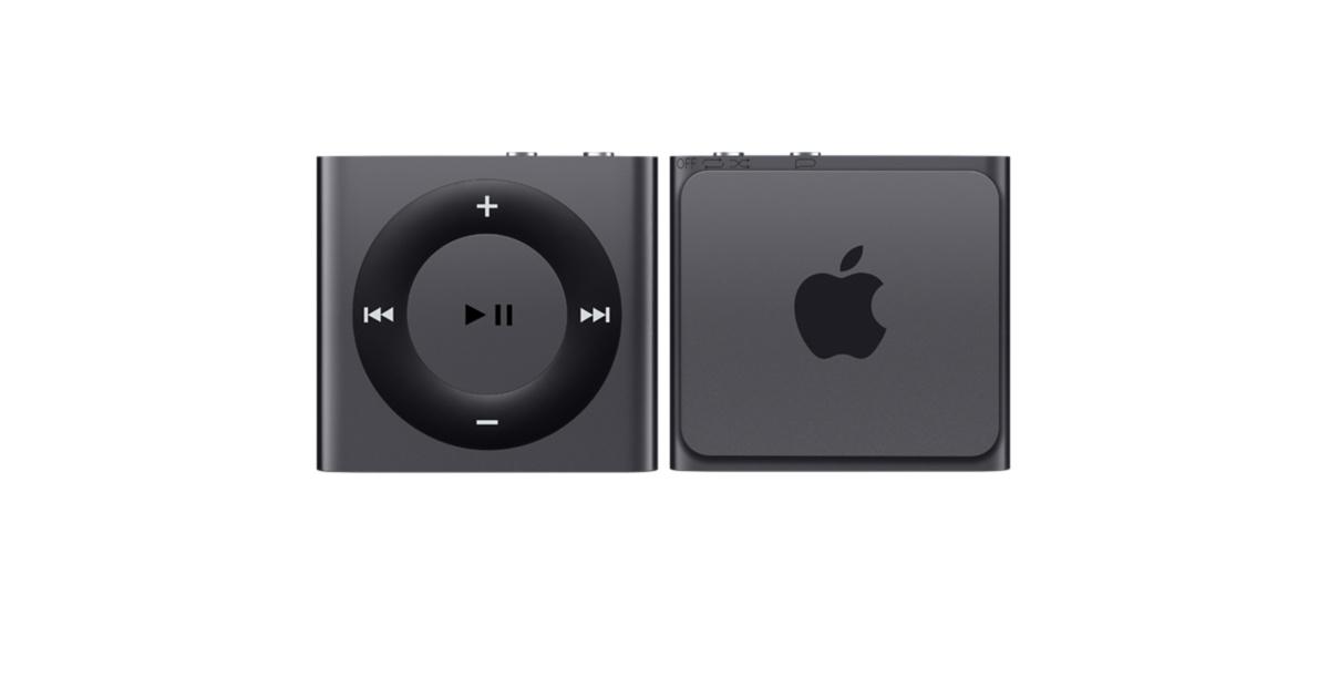 Снимка на iPod shuffle