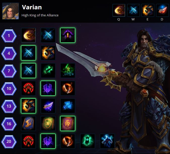Colossus Smash Varian