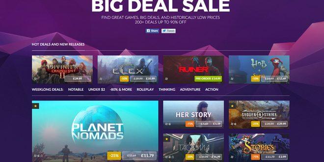 GoG ни представя своята Big Deal Sale