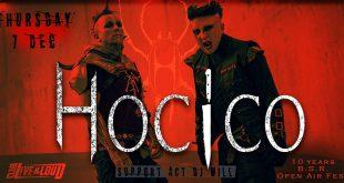 Hocico с втори концерт в България на 7 декември